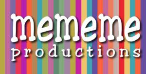 mememe productions logo